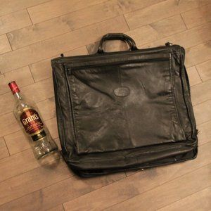 Bugatti Large Folding Leather Garment Bag